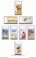 Grèce 1995 - Basket-ball - Histoire - Drapeaux - écoles - Dauphins - MNH ** - Michel Nr. 1876-1883 Série Complète (gre53 - Grecia