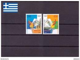 Grèce 2000 - MNH ** - Jeux Olympiques - Michel Nr. 2044-2045 Série Complète (gre886) - Grecia