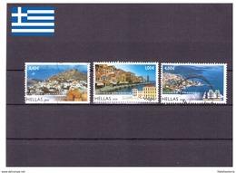 Grèce 2008 - Oblitéré - Paysages - Michel Nr. 2451C 2454A 2456A (gre685) - Grèce