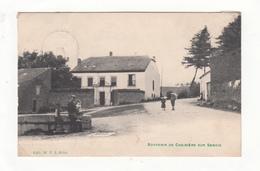Carte  Chariere Sur Semois   1911 - België