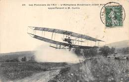 CPA L AEROPLANE AMERICAIN JUNE BUC APPARTENANT A M CURTIS - ....-1914: Précurseurs