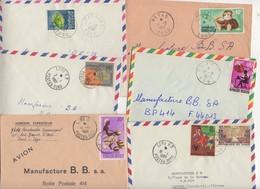 Lot De 26 Enveloppes Avec Timbres Du TOGO Après L'Indépendance Affranchissements Très Varié - Togo (1960-...)