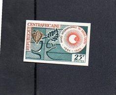 """République Centrafricaine - Timbre """" Année Internationale Du Soleil Calme """"  Neuf Non Dentelé - Obervolta (1958-1984)"""