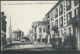 62  WIMEREUX...BOULOGNE- SUR- MER ( PAS- DE- CALAIS )   RUE CARNOT...TRAMW...CAFE.....C3430 - France