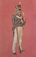 Uniformi Militari - Stati Uniti - Fanteria 1812.- - Uniformi