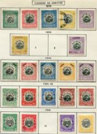 16816 VENEZUELA Collection Vendue Par Page  Service 1/5, 6, 9, 10/14, 15/9, 20/1, 23/4 */ °   1898-1912   B/TB - Venezuela