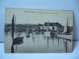 6766 CONCARNEAU 29 FINISTÈRE LE PORT ET LES REMPARTS DE LA VILLE CLOSE CPA Collection Villard Quimper - Concarneau