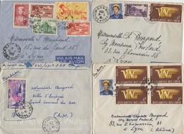 Lot De 14 Enveloppes Du Viet-Nam Et D'Indochine - Vietnam