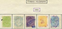 16824 VENEZUELA Collection Vendue Par Page  Télégraphe 1/5 °   1897   B/TB - Venezuela