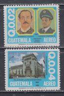 Guatemala PA N° 742 / 43 XX : Centenaire De La Police Nationale. Les 2 Valeurs Sans Charnière, TB - Guatemala