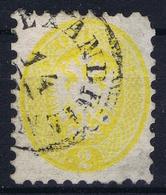 Lombardo-Veneto Sa 41 Mi 19 Used Obl. 1864 Used In Levant CDS Alexandria Egypt - Lombardo-Venetien