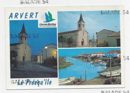 CPM - ARVERT (17) L'église Et Le Puits Renaissance - Avallon : La Grève-à-Duret - Other Municipalities