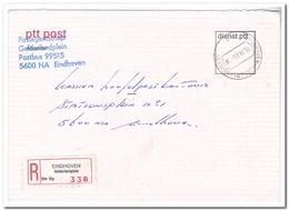 1985 Aangetekende Brief Binnen Eindhoven, Gelderlandplein - Period 1980-... (Beatrix)