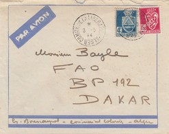 LETTRE. ALGERIE. 1944. ALGER COMITE DE LA LIBERATION POUR DAKAR   / 2 - Algerien (1924-1962)