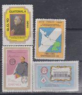 Guatemala PA N° 781 / 84 XX : Les 4 Valeurs Sans Charnière, TB - Guatemala