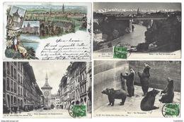 SUISSE - BERN - BERNE - Lot De 6 CPA - -1906 à 1909 - BE Berne