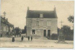 Neuvy-Pailloux-La Poste - France
