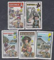 Guatemala PA N° 793 / 97 XX : Association Du Scoutisme National. Les 5 Valeurs Sans Charnière, TB - Guatemala