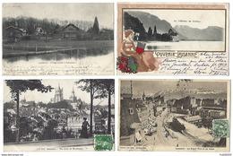 SUISSE - LAUSANNE - Lot De 7 CPA - 1902 à 1909 - VD Vaud
