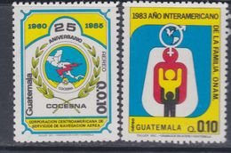Guatemala PA N° 798 / 99 XX :  Les 2 Valeurs Sans Charnière, TB - Guatemala