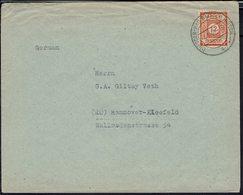 Saxe Orientale - N° 5 Seul Sur Enveloppe De Desden Pour Hannover 4-1-1946 - B/TB - - Zone Soviétique