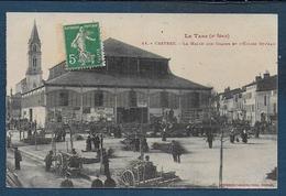 CASTRES - La Halle Aux Grains Et L' Eglise St Jean - Castres