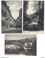 SUISSE - SAINT-AUBIN - Lot De 3 CPA - 1906 à 1909 - NE Neuchâtel