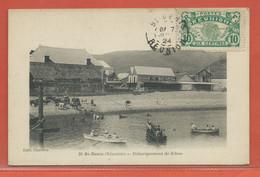 REUNION CARTE POSTALE AFFRANCHIE DE 1924 DE SAINT DENIS - Réunion (1852-1975)
