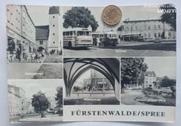 Fürstenwalde/Spree, Bahnhof,Ikarus-Bus,,Mühlenstraße, 1974 - Fürstenwalde