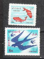 Iran - 1967. Rondine E Pesci Rossi. Swallow And Goldfish. MNH - Rondini