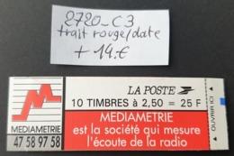 Carnet N° 2720-C9 Avec Date: 08.02.93 + Trait Rouge  Neuf ** TB - Definitives