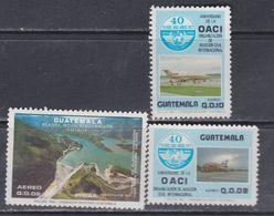 Guatemala PA N° 809 / 11 XX . Les 3 Valeurs Sans Charnière, TB - Guatemala