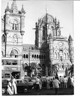 Photo Inde Victorai Station Terminus à Bombay Photo Vivant Univers - Lugares