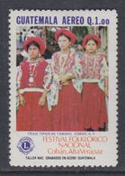 Guatemala PA N° 816 XX . Festival Folklorique National à Coban ( I ), Sans Charnière, TB - Guatemala