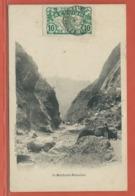 REUNION CARTE POSTALE AFFRANCHIE DE 1924 DE POINTE DES GALETS POUR MARSEILLE FRANCE - Réunion (1852-1975)