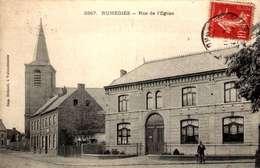 CPA RUMEGIES (Dpt-59) - Rue De L'Eglise  /LOT 3041 - Other Municipalities