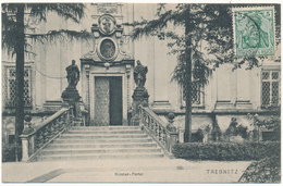 TREBNITZ, TRZEBNICA - Kloster , Portal - Carte En L'état - Poland
