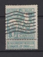 Belgique: 1911. COB N° 96. Oblitéré. - 1910-1911 Caritas