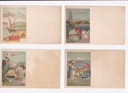 CP ILLUSTRATEUR HUGO D'ALESI Lot De 5 Cartes - 5 - 99 Cartes