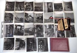 Album 25 Photos MINE DE SOUFRE DE MALVEZY (MALVESI), NARBONNE, Aude (11) - SLREM, Carrière, Usine, Industrie Chimique - Métiers