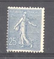 0ob  0510  -  France  :  Yv  132  * - 1903-60 Semeuse A Righe