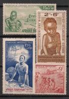 AEF - 1942 - Poste Aérienne PA N°Yv. 10 à 13 - PEIQI - Série Complète - Neuf Luxe ** / MNH / Postfrisch - A.E.F. (1936-1958)