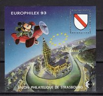 BLOC CNEP - EUROPHILEX - MICKEY  1993 - Y&T  N° 17 - Neuf - Expositions Philatéliques
