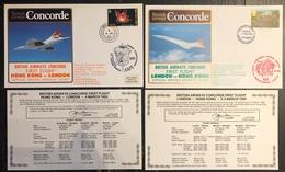 Premier Vol - Concorde - British Airways - Hong Kong - London - 1985 - Concorde