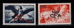 Reunion - YV PA 47 & 48 NSG (*) Cote 39,30 Euros - Réunion (1852-1975)