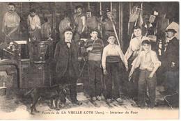 Verrerie De La Vieille-Loye (Jura) - Intérieur Du Four - France