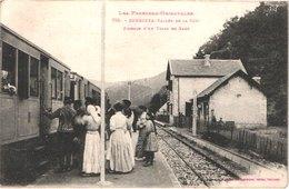 FR66 SERDINYA - Labouche 759 - Vallée De La Têt - Passage D'un Train En Gare - Train Jaune - Animée - Belle - France
