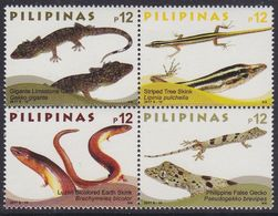 Philippines 5281/84 - Lizards 2017 - MNH - Rettili & Anfibi
