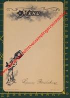 Liqueur Bénédictine - Menu - 40e Série N° 6 - IMP Bénédictine Fécamp - Pierrot Clown - Menus
