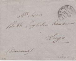 1912 POSTA MILITARE/BU SCEIFA C2 (23.11) Su Busta Non Affrancata Non Tassata - Libye